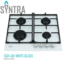 Газова панель SGH 461 White Glass